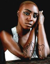 Laura Mvula Autograph Photo Signed